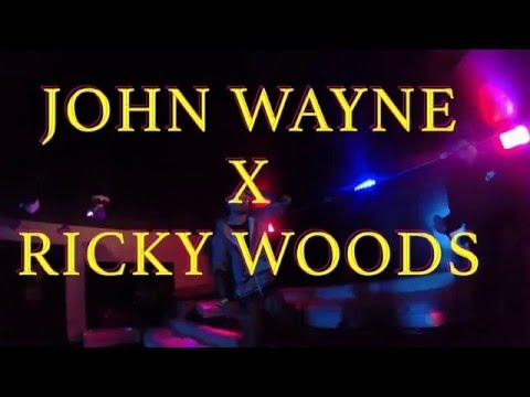 John Wayne X Ricky Woods performance at Vanity Room