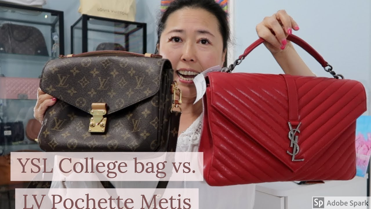 f5c608e85b YSL College bag Large - Red - YouTube