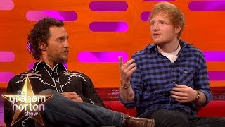 Ed Sheeran Once Took Lego to a Date   The Graham Norton Show