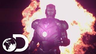 Adam Savage Makes Bombproof Iron Man Suit | Savage Builds