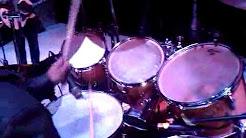 Calibre 50 - Augusto baterista - prueba - Antonio Arreola (Los reyes la paz 8/1/11)