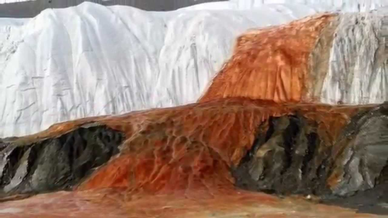 Natural wonders - Blood Falls Antarctica
