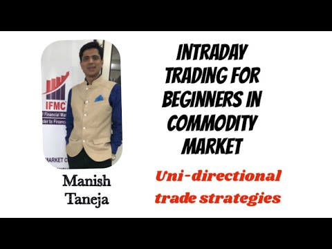 INTRADAY TRADING FOR BEGINNERS  ON CRUDE OIL ON THE BASIS OF UDTS