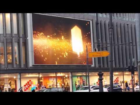 LED screen in Berlin Germany