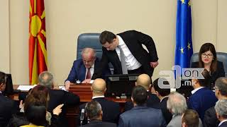 Груевски го удри Талат во Собранието