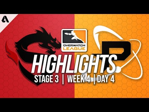 Shanghai Dragons vs Philadelphia Fusion | Overwatch League Highlights OWL Stage 3 Week 4 Day 4