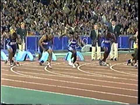 2000 Olympics (100m Final) - Maurice Greene (9.87) - Sydney, Australia