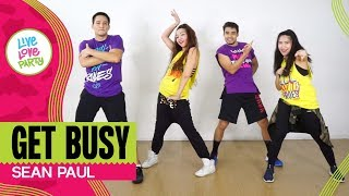 Get Busy by Sean Paul | Live Love Party™ feat. Jason Joshua Kristie Fiona | Zumba® | Dance Fitness