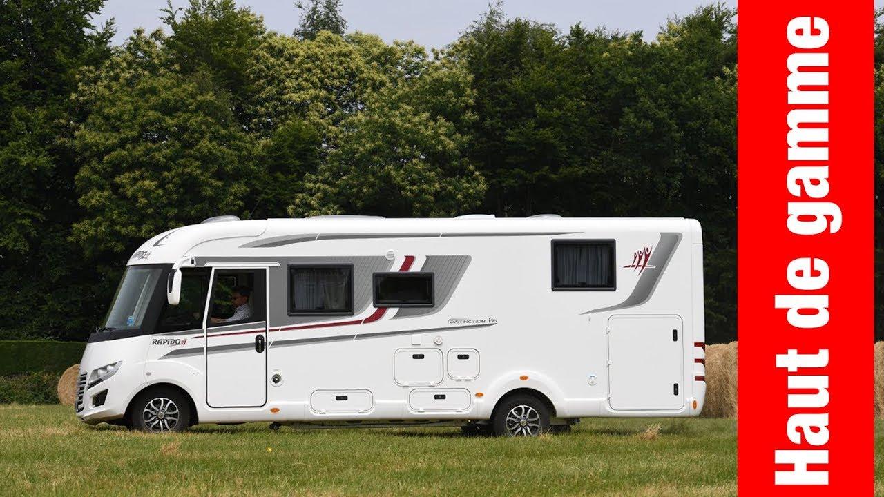 camping car rapido distinction i 96 premium edition