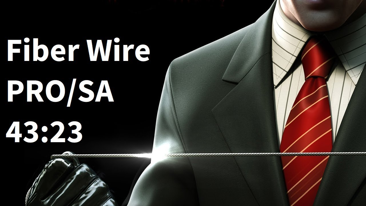 Hitman Blood Money Speedrun Fiber Wire Only Silent Assassin 43 23 Youtube