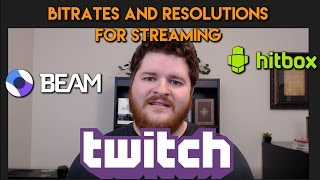 Streaming Bitrate Comparisons: What to stream at?