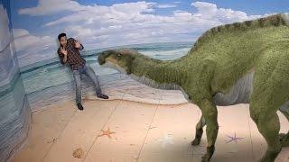 Mindblowing 3D Dinosaur , Dolphin , Leopard  @ Aquaria Suria KLCC Malaysia