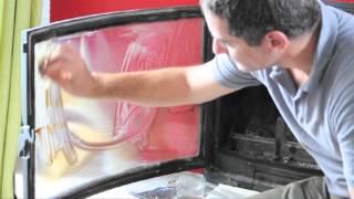 comment laver vitre insert