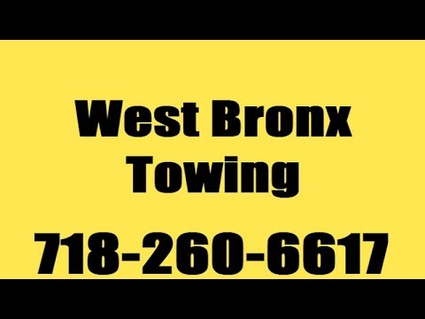 Towing Service Company 24 Hour Emergency West Bronx NY