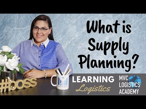 What Is Supply Planning? Supply Chain Basics