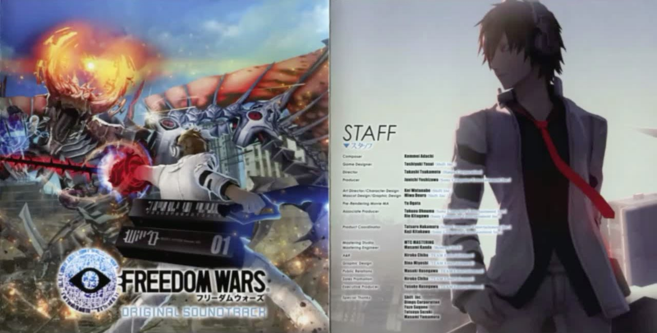 The Best Of Freedom Wars Original Soundtrack - Part 1 [PS Vita]
