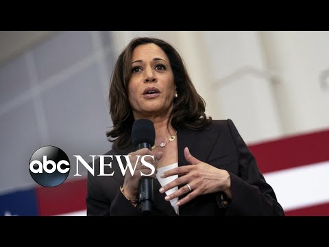 2020 candidates defend Kamala Harris from attacks on her background