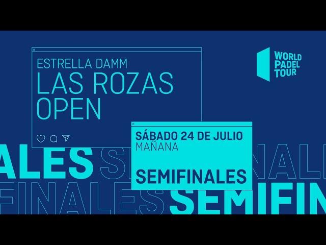 Semifinales Mañana - Estrella Damm Las Rozas Open 2021 - World Padel Tour