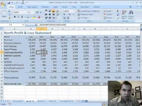 math worksheet : excel video 18 consolidating multiple ranges into one pivot table  : Create Pivot Table From Multiple Worksheets