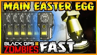 """GOROD KROVI"" Fast Bomb Step Guide! - Easter Egg STRATEGY (BO3 Zombies DLC 3)"