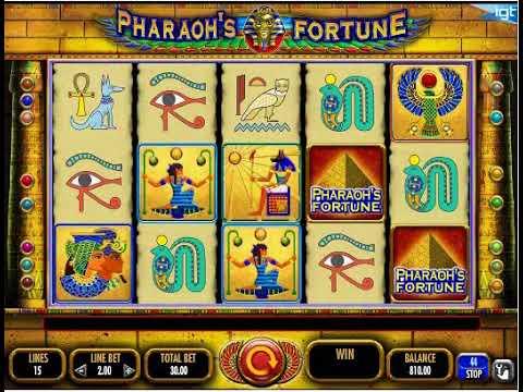 Pharaoh's Fortune Slot - Play in Demo, Bonuses & RTP - 2018