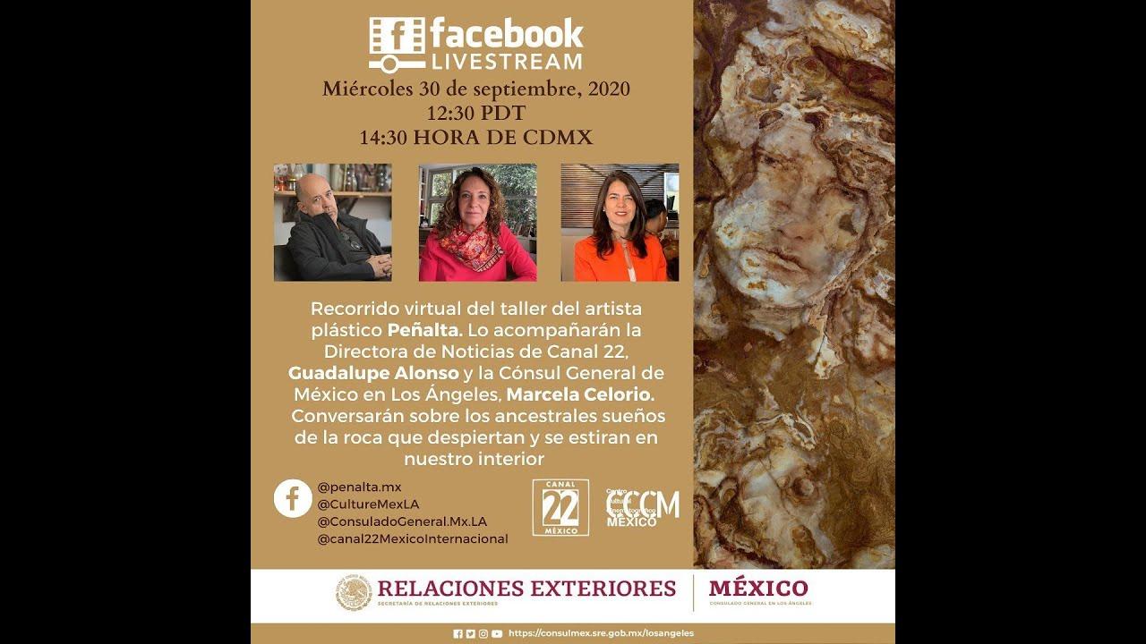 Visita virtual al Taller del artista Peñalta