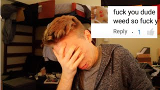 READING HURTFUL COMMENTS