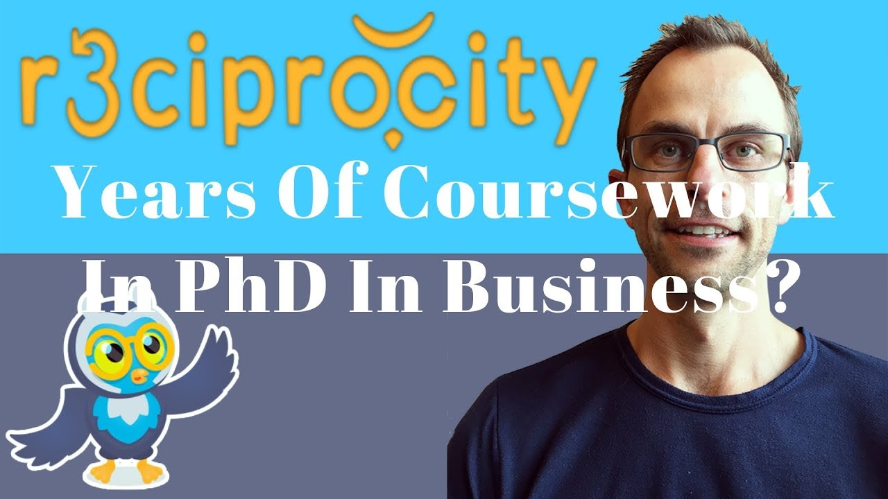 Coursework For Phd