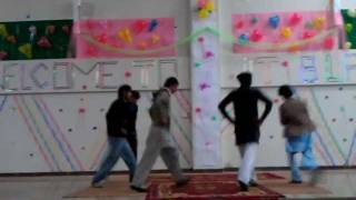 Hazara University IT department party 2012 (Attan dance)