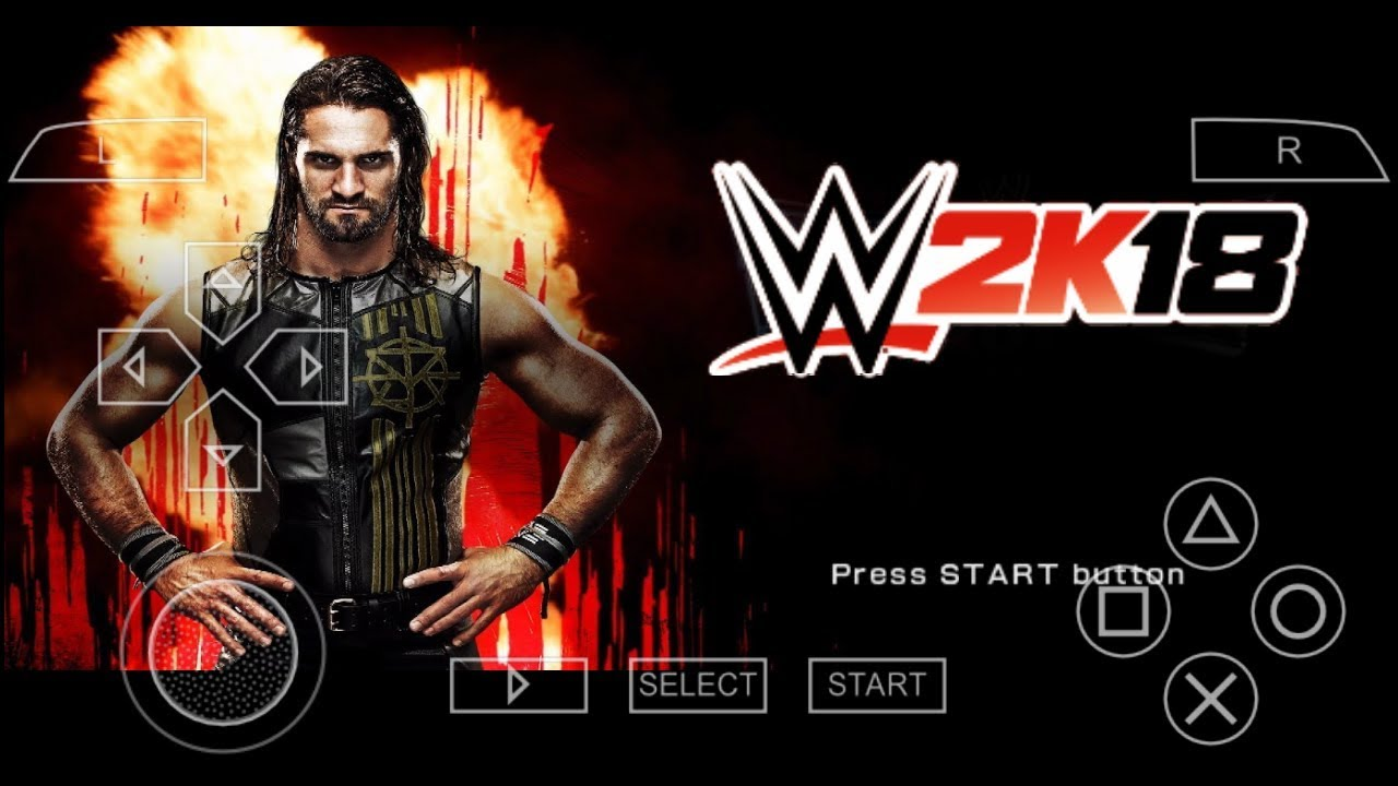 Wwe 2k18 ppsspp download