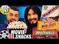Irish People Try AMERICAN MOVIE THEATER - Snacks + Candy + Cinema Popcorn Flavours!!