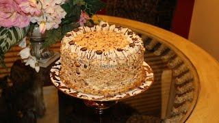 Торт  лебединое озеро - Видео кулинария Татьяны