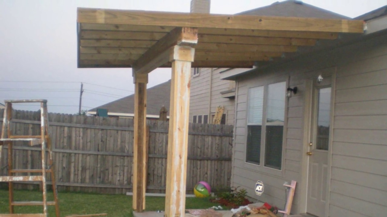 how to build a patio cover must watch