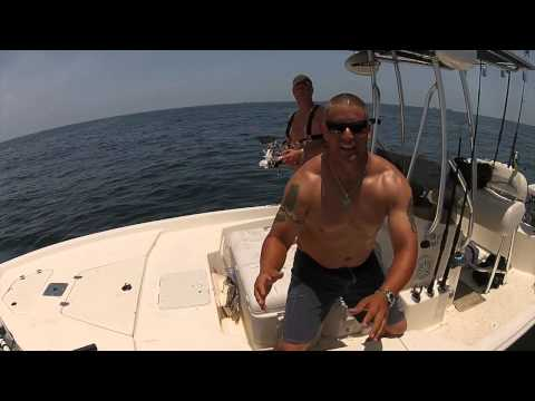 DJI Phantom Offshore Fishing   Kingfish  Galveston, TEXAS
