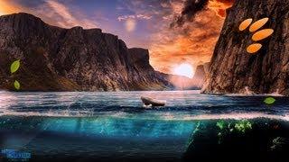 Speed art - Underwater nature ( #Photoshop CS6 ) | CreativeStation