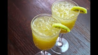 KIWI LEMONADE RECIPE *COOK WITH FAIZA*