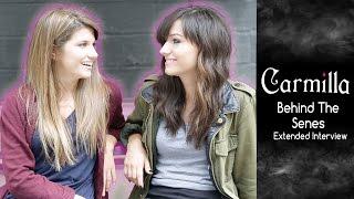 Carmilla | Elise Bauman & Natasha Negovanlis | Extended On-Set Interview