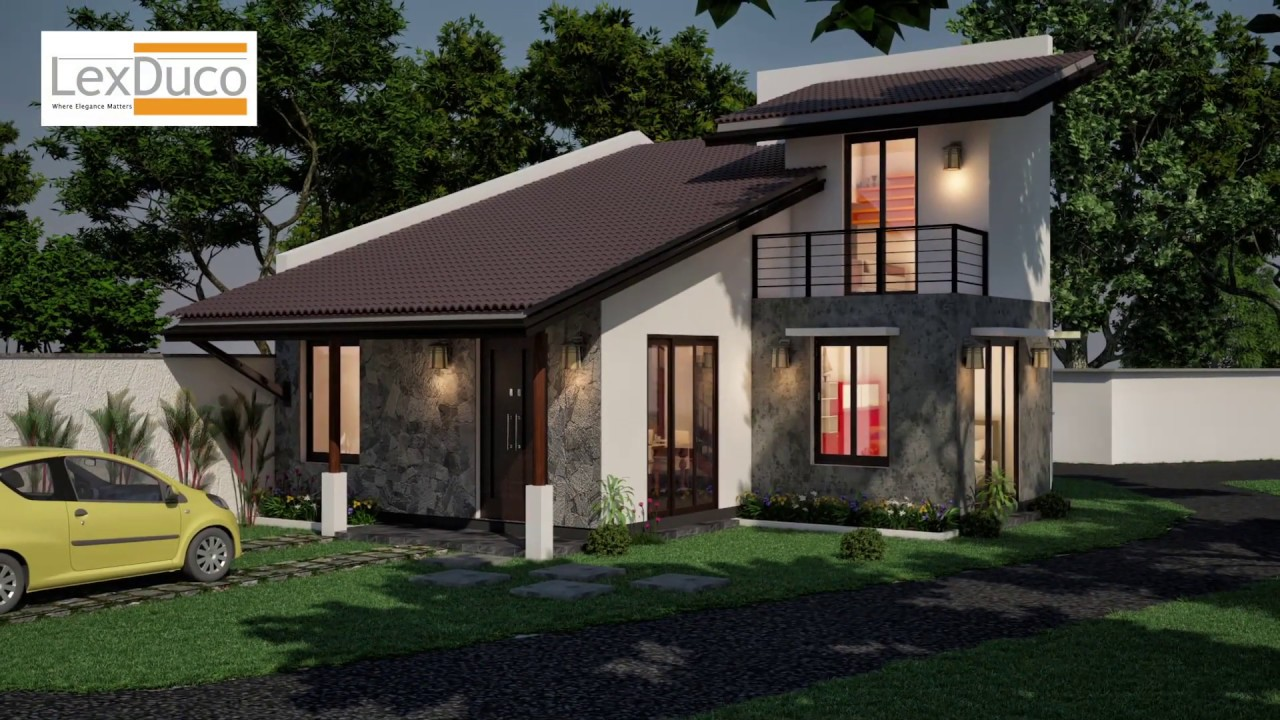 Top 200 House Designs In Sri Lanka And 3d Home Plans For 2019 By Lex Duco Two Storey Category,Reunion Tshirt Design