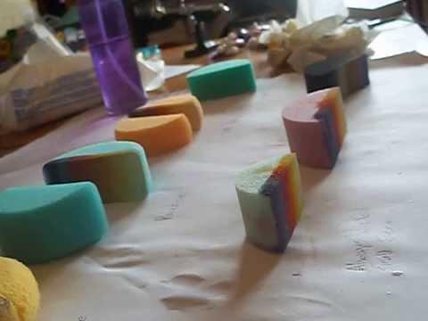 Face Paint Sponge Test