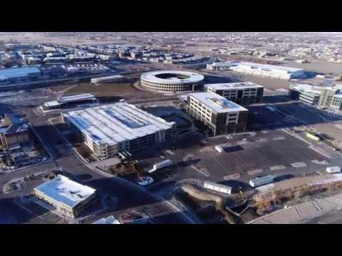 Aerial Tour of CHG Office Building & Parking Structure