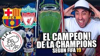 QUIEN SERA EL CAMPEÓN DE LA CHAMPIONS LEAGUE según FIFA19