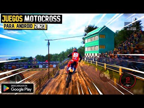 INCREIBLE Juegos De MotoCross Para ANDROID Y IOS- Offline Y Online