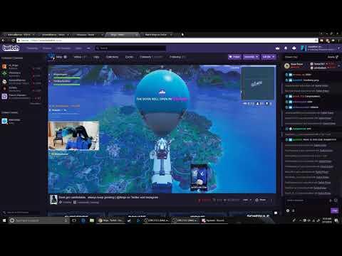 Ninja's Drake stream wall of Twitch Prime subs