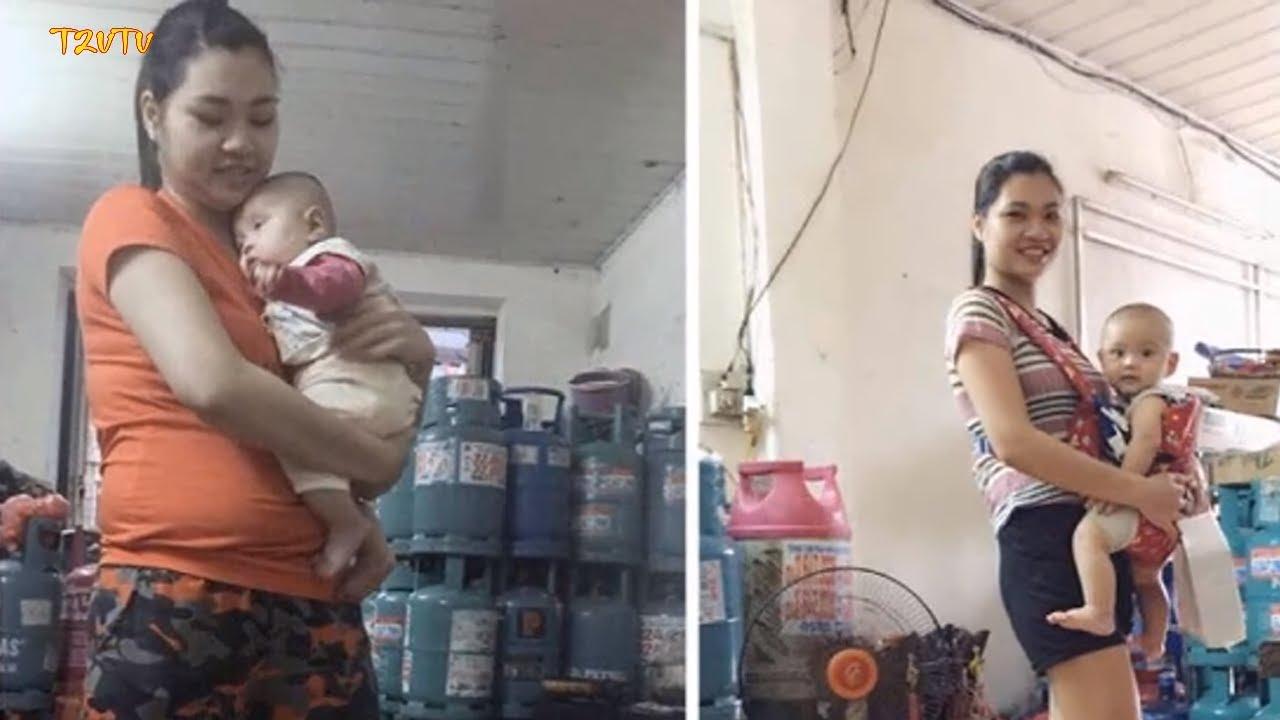 Giảm 20cm vòng bụng chỉ 2 tháng sau sinh, mẹ 2 con 'lột xác' ngoạn mục khiến chồng ngỡ ngàng