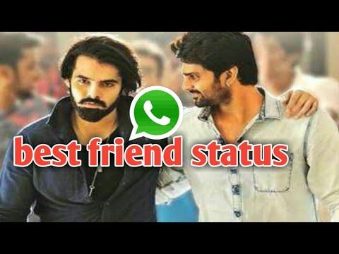 best friend whatsapp status telugu video download