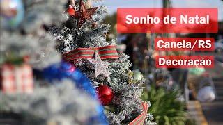 Começou o Sonho de Natal de Canela 2020 | Decoração das árvores natalinas