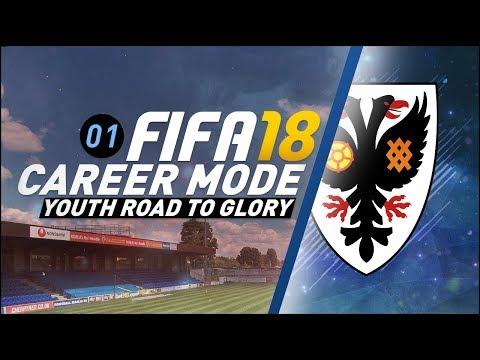 FIFA 18 Youth Career Mode RTG S3 Ep1 DAVID VILLA REGEN!!