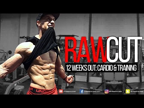 RAW CUT | Episode 5: 12 Weeks Out | Cardio & Training | MassiveJoes.com