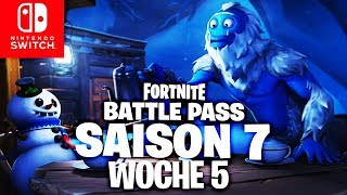 🔴 Battle Pass Star - Défi de la semaine 5 (fr) Fortnite Nintendo Switch (en)