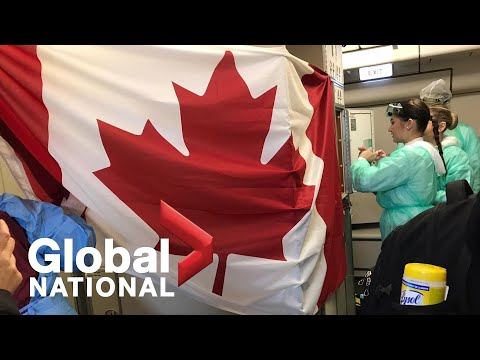 Global National: Feb. 6, 2020 | Canadian evacuees en route from Wuhan